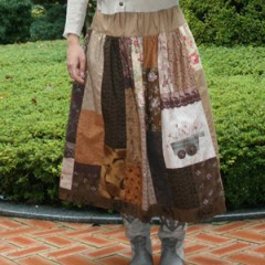 Browny Patch Skirt