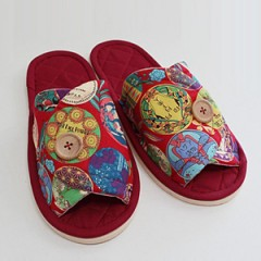 Button Slippers