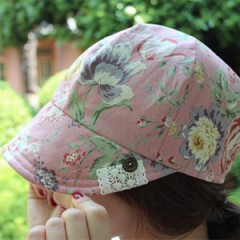 Flower Milly Cap(pink)