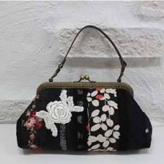 Black Frame Mini Bag