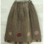 [HLK_505] Flower Skirt(deep color)