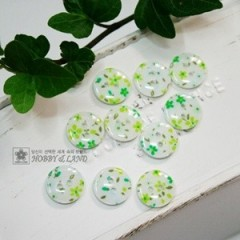Printed Flower- Lt.green(1212)